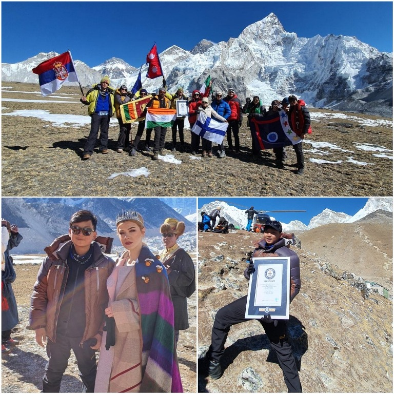 Read Here: Aaron Akivito Sema from Nagaland makes history at Mt. Everest Fashion Runway