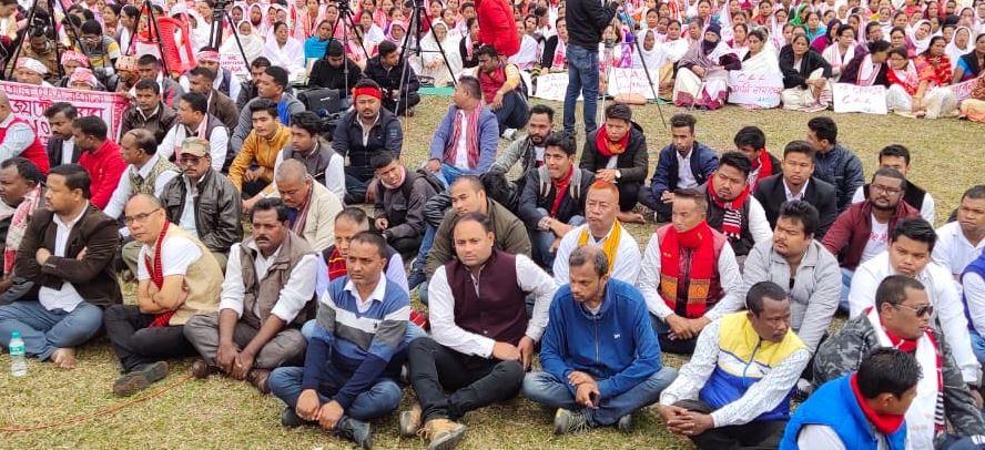 Mass uproar against Citizenship Amendment Act in Tinsukia district