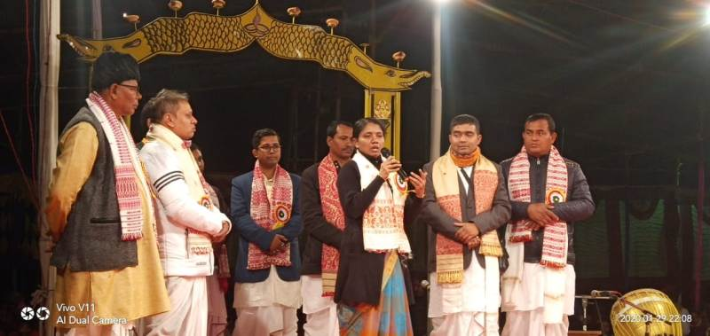Three-day-long Bhaona Samaroh begins in Sivasagar district