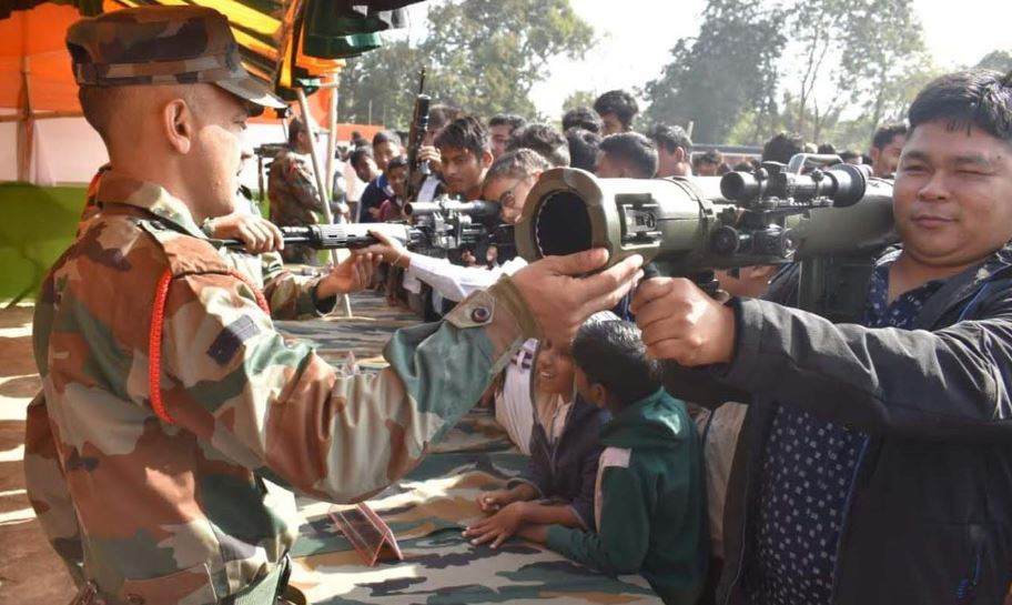 'Know your Army' stall adds more colour to Republic Day celebration in Udalguri