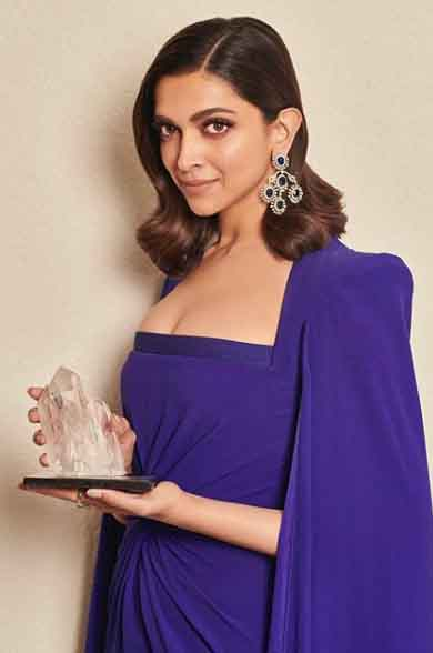 Deepika Padukone honoured with Crystal Award for her work on mental health issues