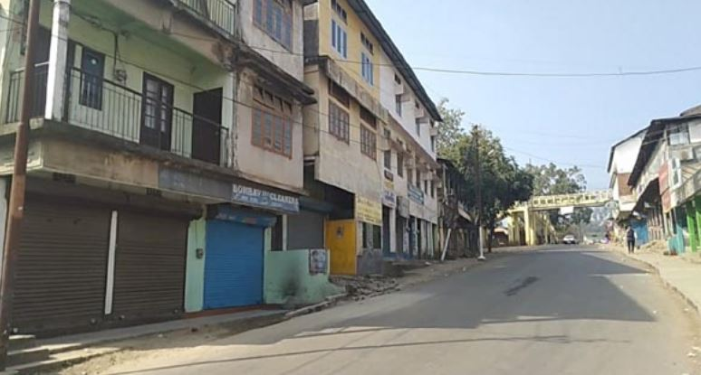24-hour Bandh affects normal life in Dima Hasao