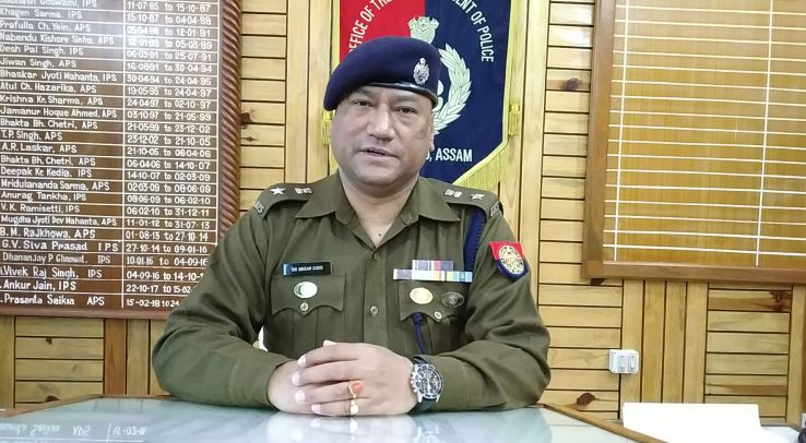 Bir Bikram Gogoi joined as new Dima Hasao Superintendent of Police