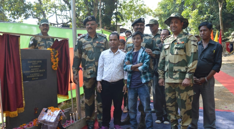 Border Security ForceOrganized Civic Event at Meghalaya