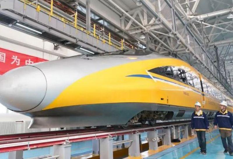 Ahead of Beijing 2022, China launch driverless bullet train