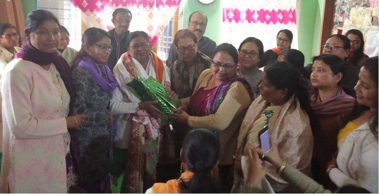 Farewell ceremony organized for senior supervisor of Bhurbandha Block