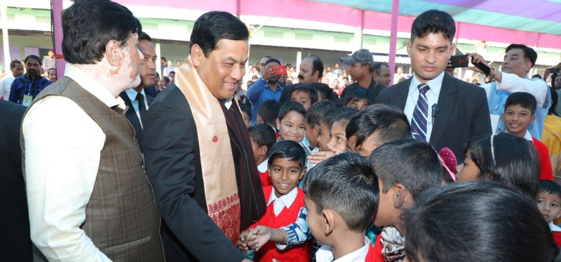 Chief Minister Sarbananda Sonowal urges students to study with sincerity