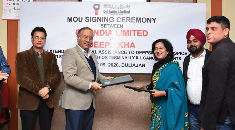 MoU signed between Deepsikha and Oil India Limited (OIL)