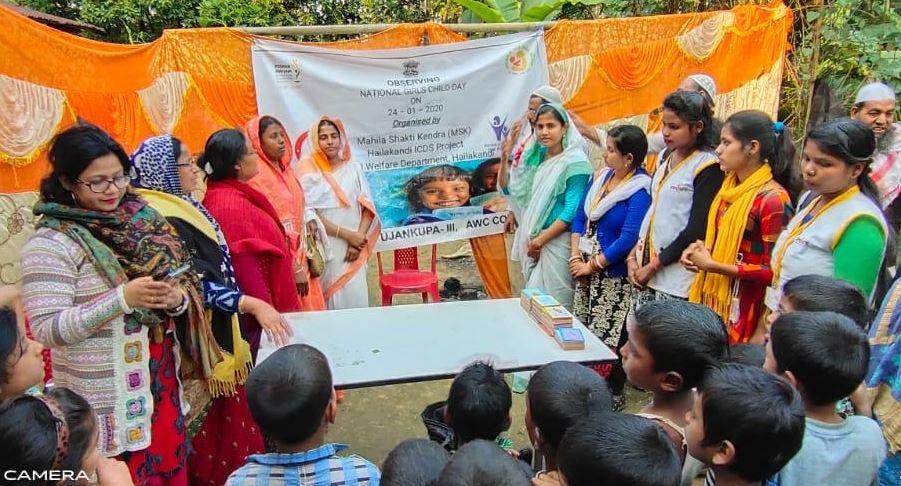 National Girl Child Day observed across Assam