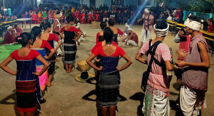 Hacha Kekan a post-harvest festival celebrated in Karbi Anglong