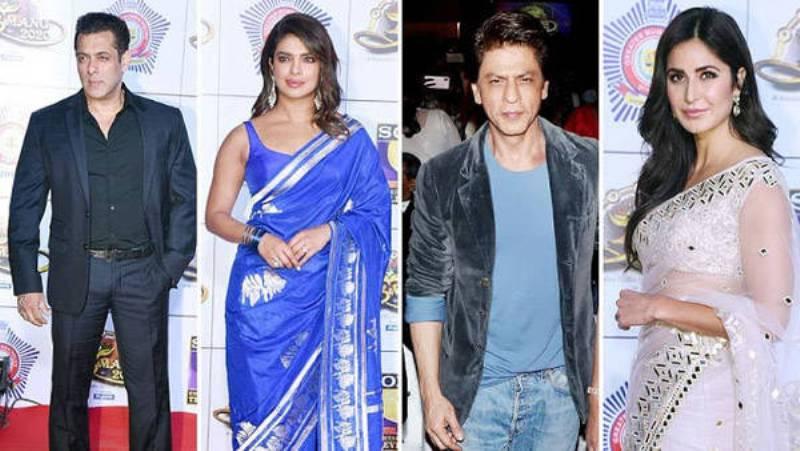 Salman, SRK, Katrina, Priyanka among celebrities at Mumbai Police gala