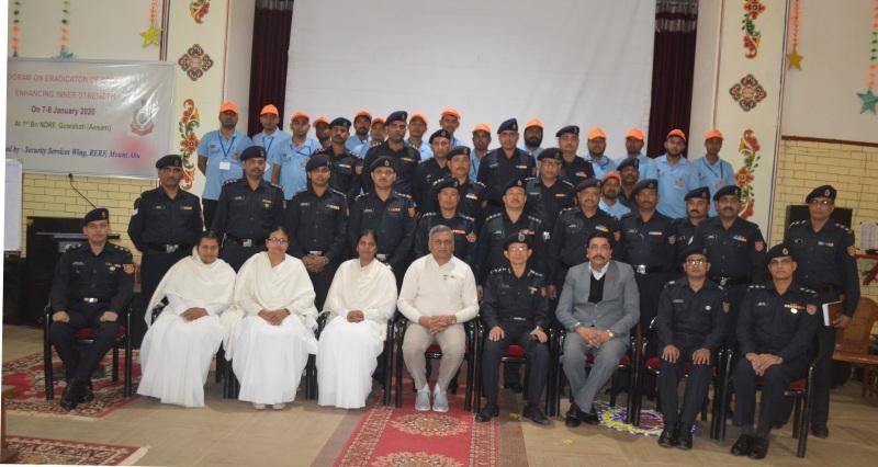 Programme On Stress Managementfor NDRF personnel in Guwahati