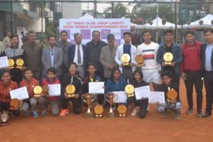 Anup Lahoty open Tennis
