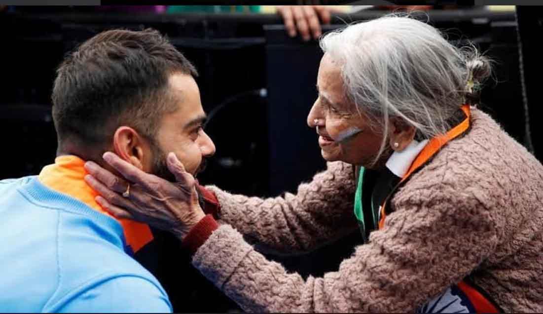 87-year-old Charulata Patel, Indian Cricket Team