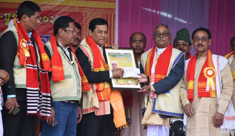 CM Sarbananda Sonowal attends 34thbiennial conference of Deuri Sahitya Sabha