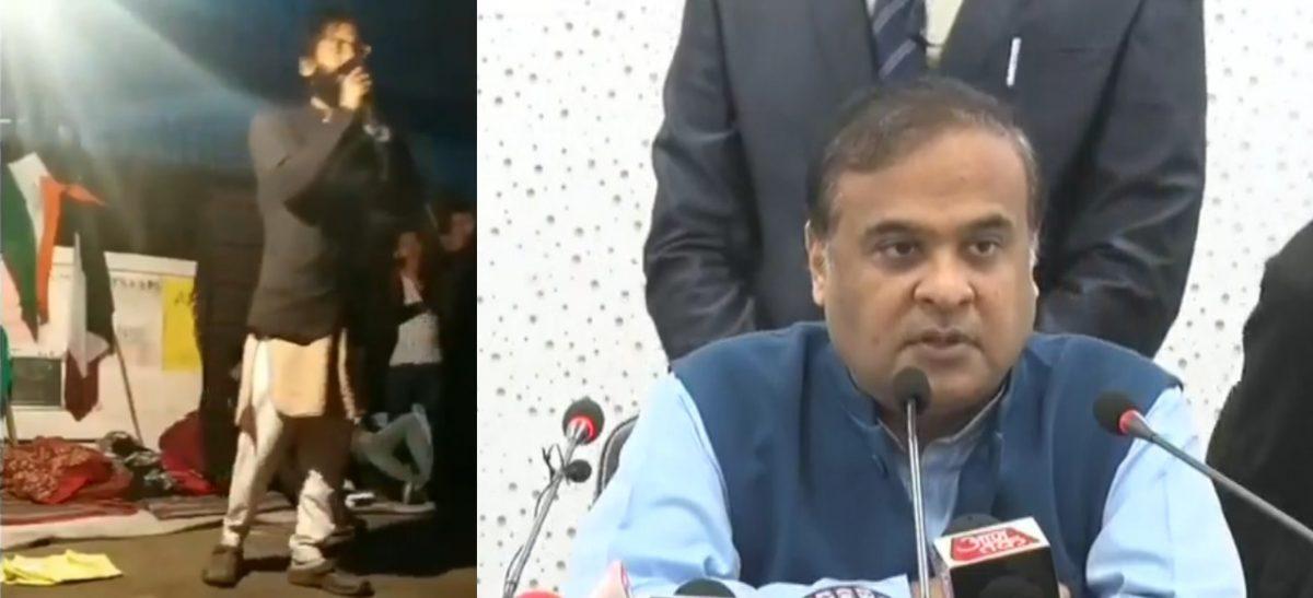 Assam govt. to file case against Sharjeel Imam for making controversial remarks on Assam