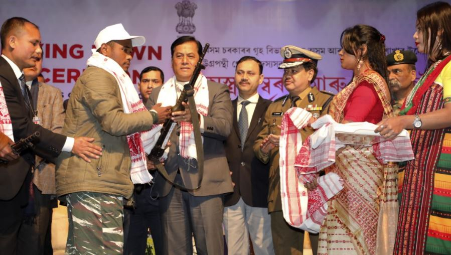 All youths returning to mainstream must help in the peace-building process: SarbanandaSonowal