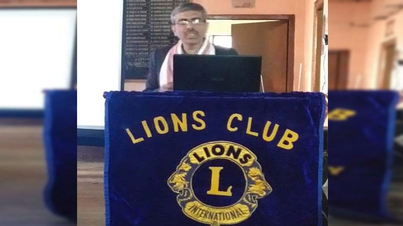 Health talk organized at Tinsukia Bar Association