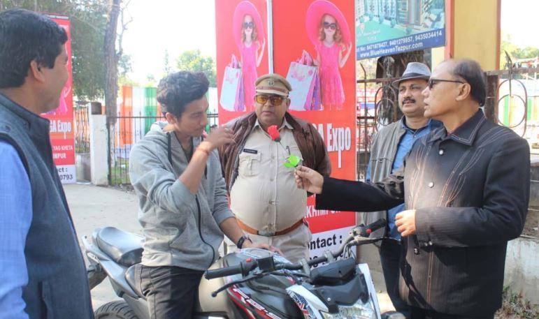 31st National Road Safety Week, 2020 kicks off at Lakhimpur