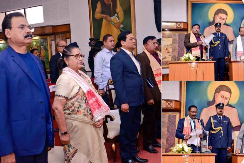 Jogen Mohan of Mahmora, Sanjoy Kishan of Tinsukia inducted in Assams Council of Ministers