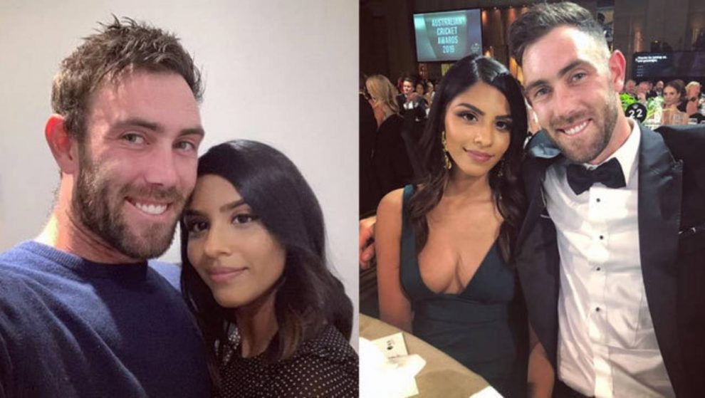 Glenn Maxwell Announces Engagement to Longtime Indian Girlfriend