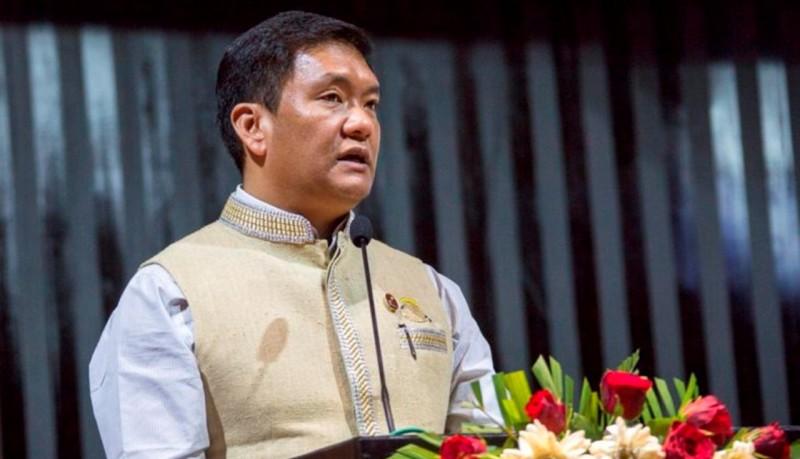Family members of COVID-19 positive man tested negative: CM Pema Khandu