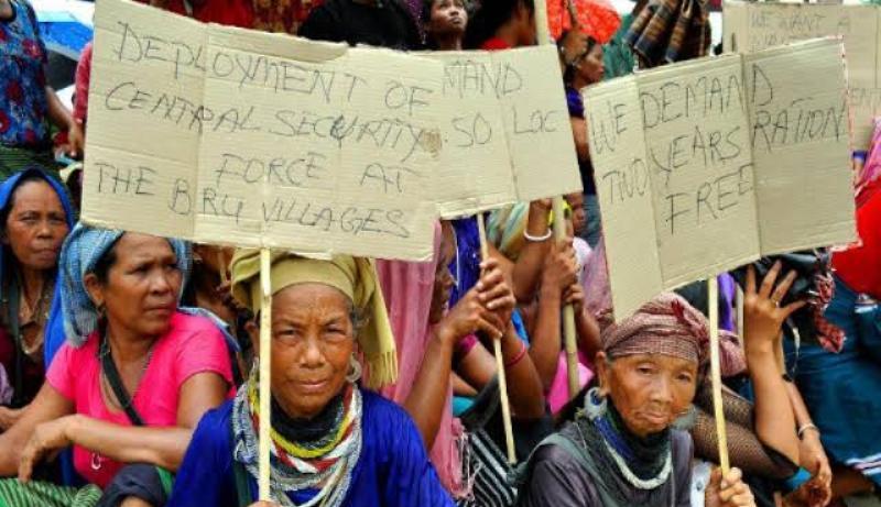 Tension prevails over Bengalis in Tripura, Reangs spat