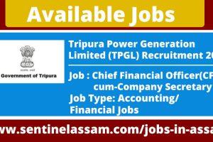 Tripura Power Generation Limited Recruitment