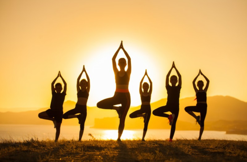 Mindful yoga may cut testosterone levels by 29% in women