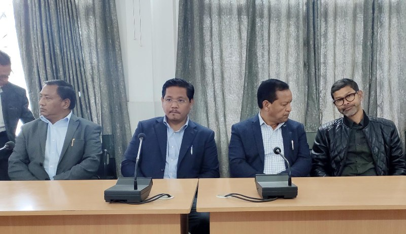 CM Conrad K Sangma appeals for peace to citizens of Meghalaya