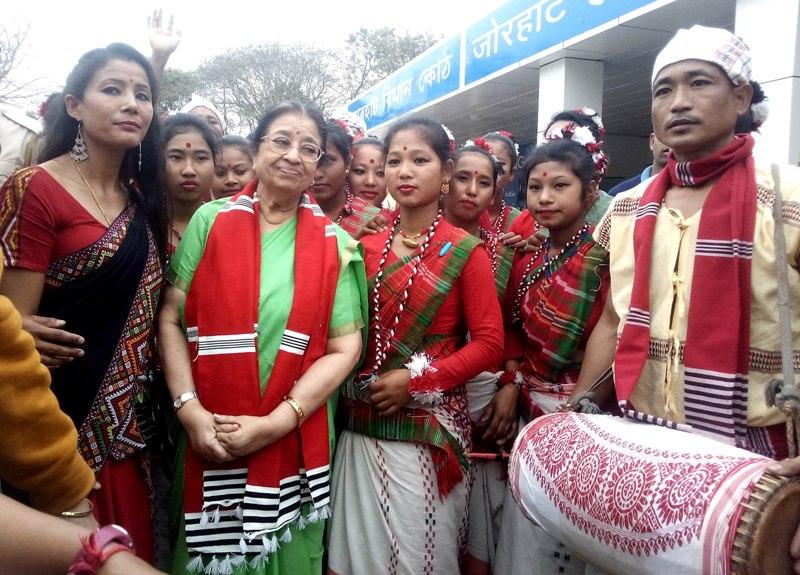 This is my first visit to Majuli: Usha Mangeskar