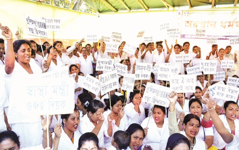 Protests erupt outside Assam Legislative Assembly