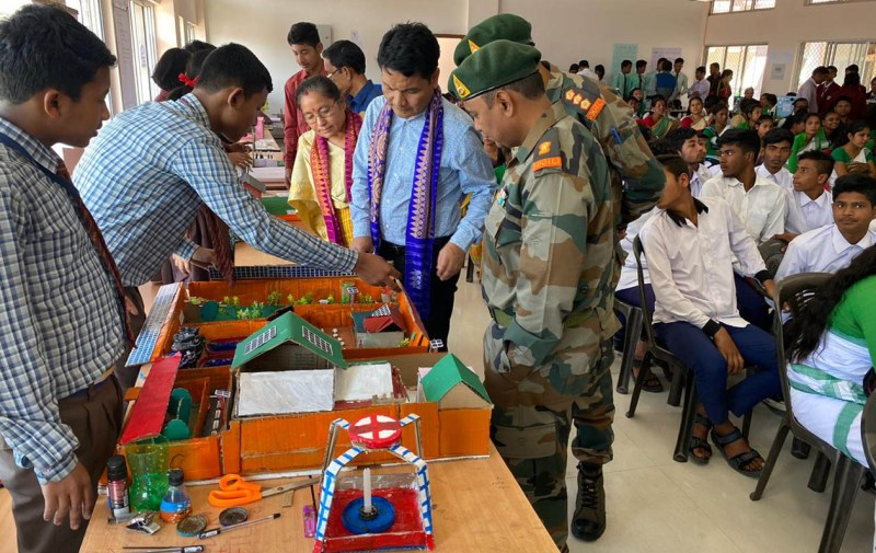 Army organizes science exhibition on National Science Day in Kokrajhar