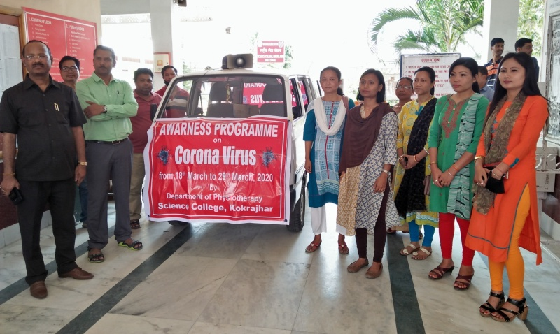 Awareness Campaign on COVID-19 Gets Underway at Kokrajhar