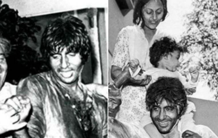 Amitabh Bachchan shares throwback pictures of 'best Holi' celebrations