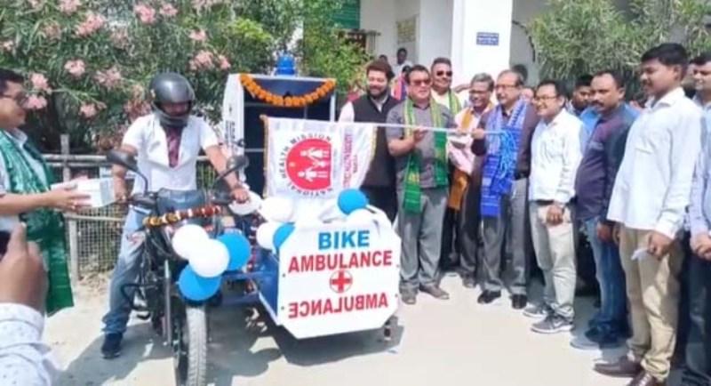 Bike ambulance service launched in Baksa