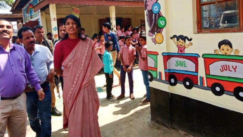 Building as a learning aid launched in Greham MV School in Hailakandi
