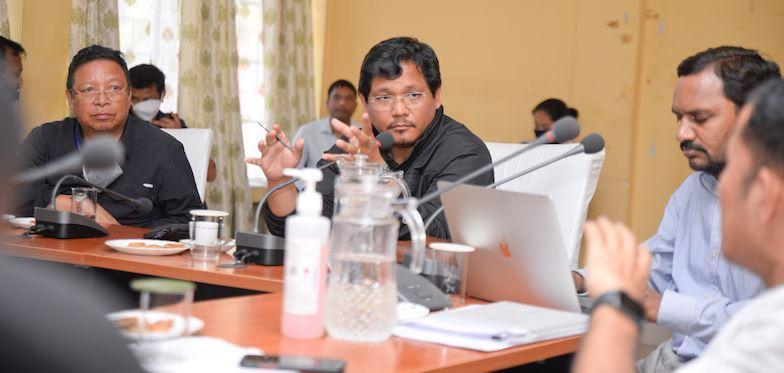 Meghalaya CM Conrad K Sangma reviews coronavirus preparedness across Garo Hills