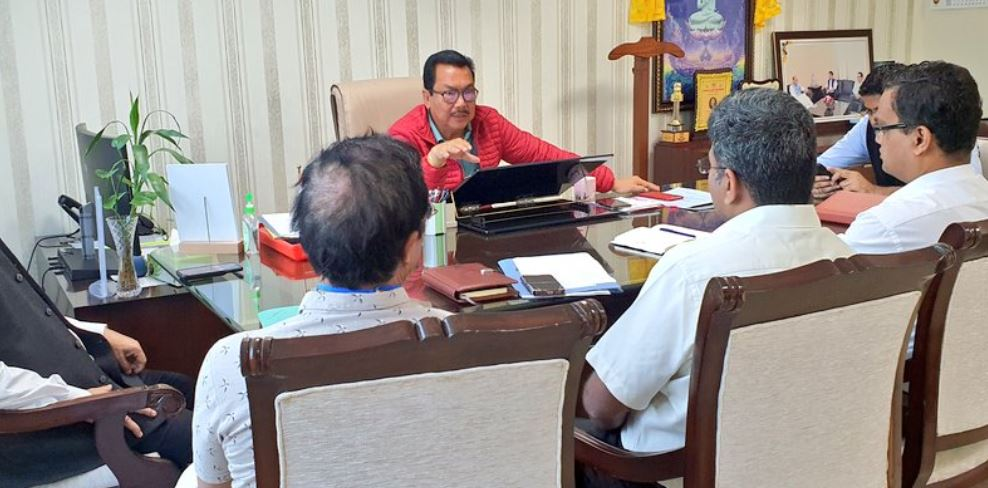 Covid-19: Arunachal Deputy CM Chowna Mein assures all support to the Health department