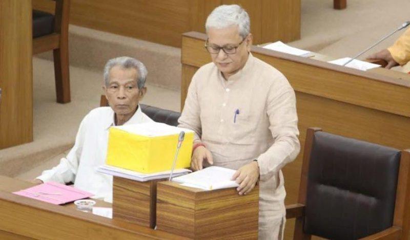 Tripura Deputy CM Jishnu Dev Varma presents Rs 19,891-crore tax-free Budget