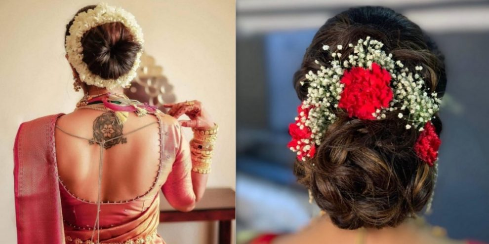 Gorgeous Indian Bridal Hairstyles For Your Wedding Day