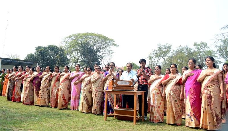 Closing ceremony of golden jubilee of Demow High Medium Girls' School on