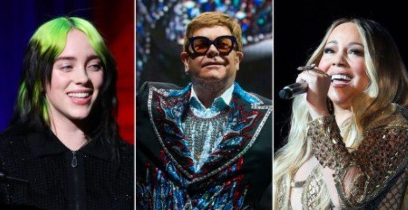 Elton John, Billie Eilish, Mariah Carey among artistes for COVID-19 relief concert