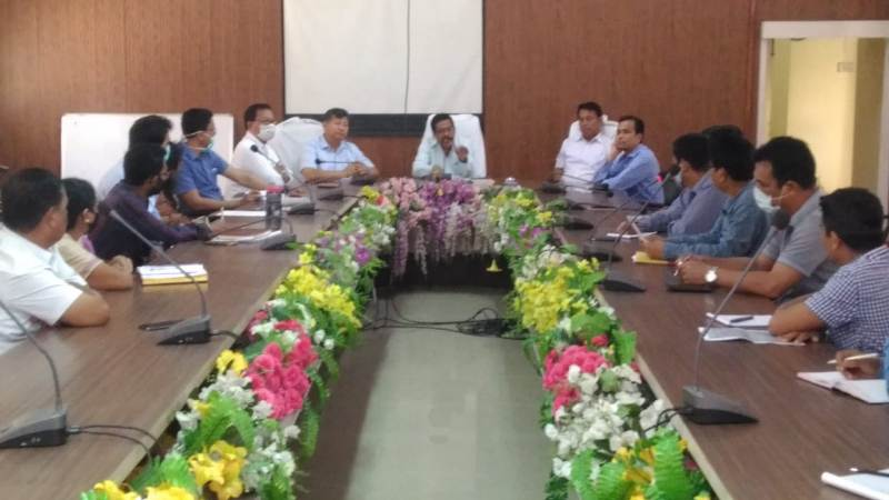Emergent meeting on stock of essential commodities held in Chirang