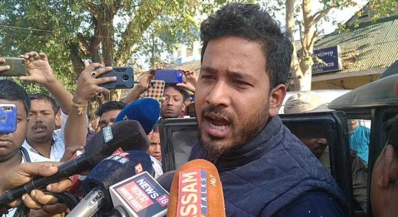 Golaghat Police arrests SMSS general secretary Bidyut Saikia