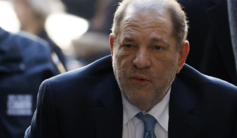 Harvey Weinstein tests positive for COVID-19 in jail