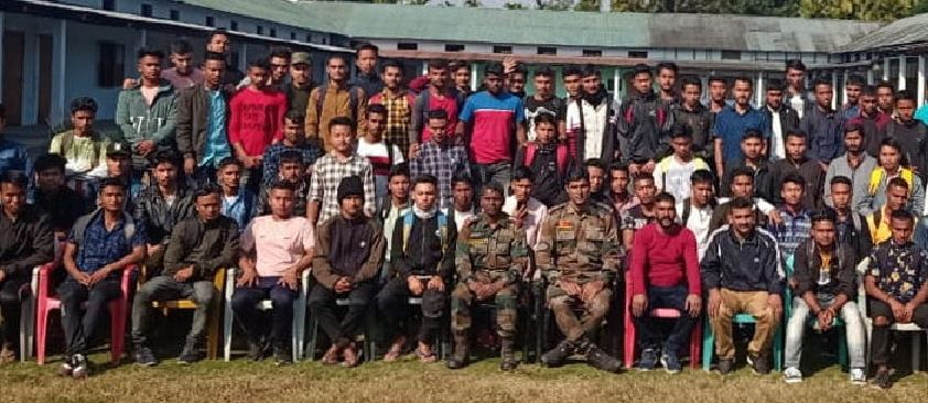 Indian Army Recruitment Rally conducted at Tezpur