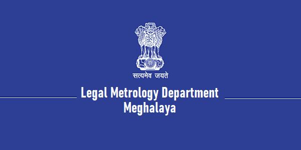 Legal Metrology Department, Meghalaya recruitment