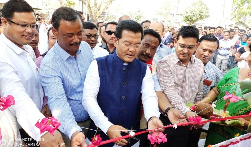 37 developmental schemes started in Dhakuakhana of Lakhimpur district
