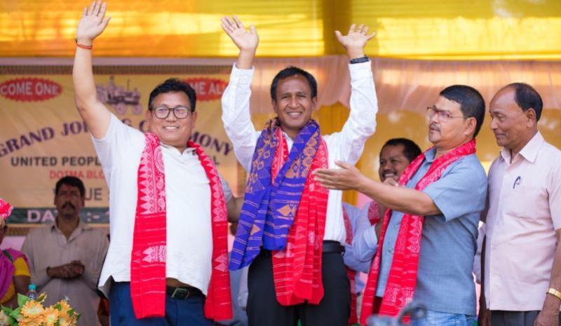 NDFB leader BR Ferenga and 30 others join UPPL in Kokrajhar